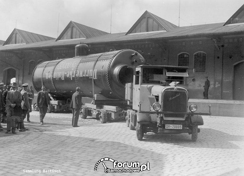 Transport ponadnormatywny i jego początki