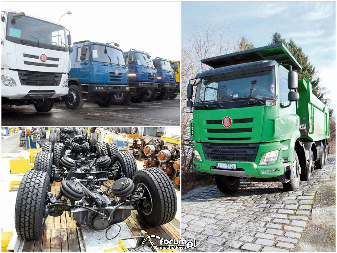 Tatra – nietypowa czeska ciężarówka