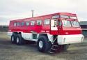 Terra Bus, wykorzystywany do transportu ludzi na Arktyce, Autobus specjalny