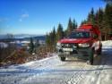 Toyota Hilux w służbie GOPR, góry, zima