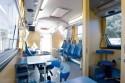 Wnętrze ambulansu do pobierania krwi, Solaris, Autobus specjalny