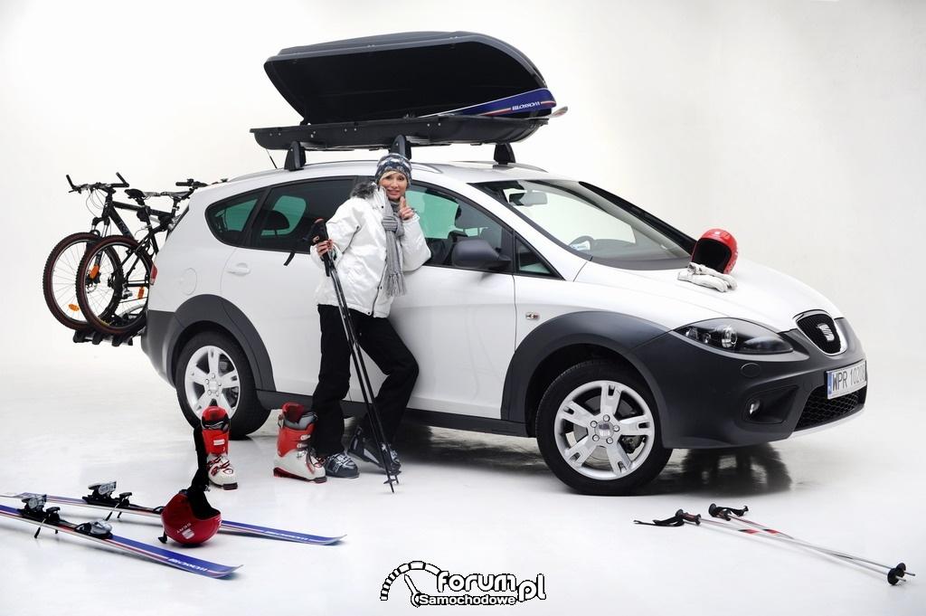 Ewa Gawryluk i SEAT Altea Freetrack