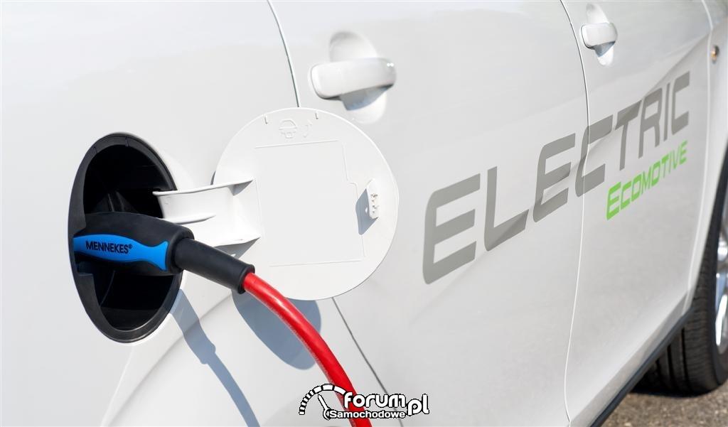 Ładowanie samochodu - Seat Altea XL Electric Ecomotive