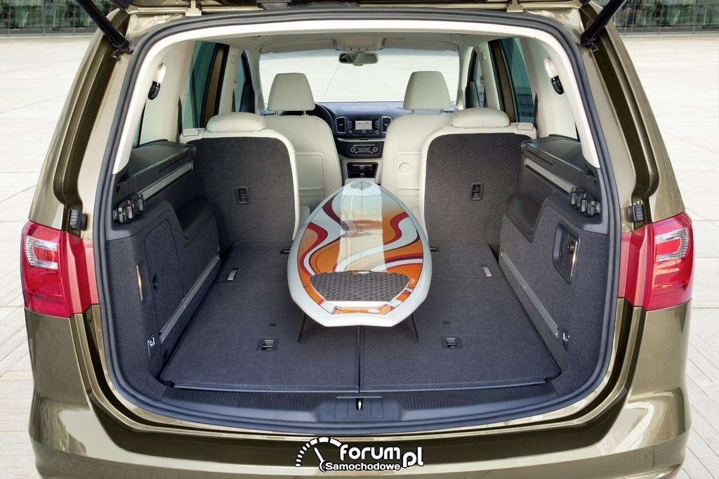 SEAT Alhambra - bagażnik