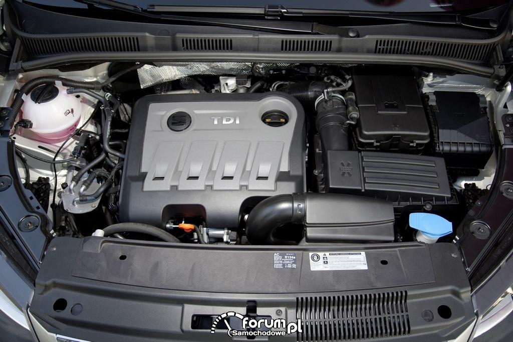 SEAT Alhambra - silnik TDI