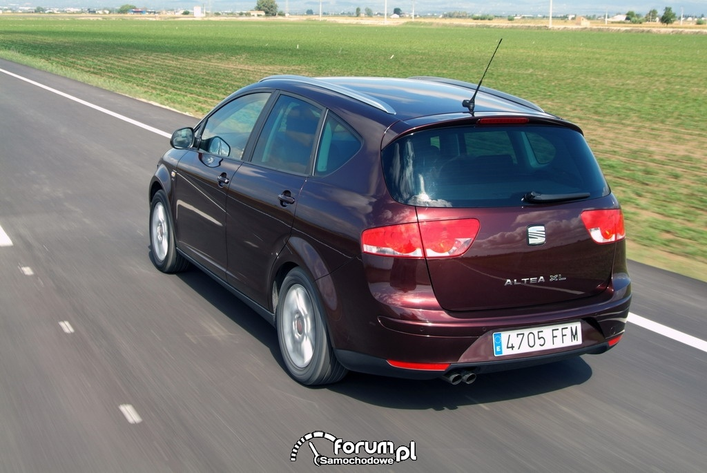 SEAT Altea XL, tył