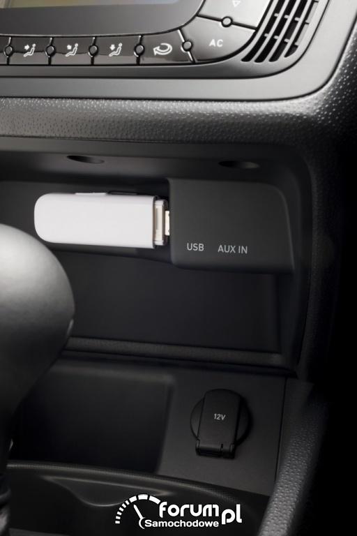 Seat Ibiza 2012 - USB