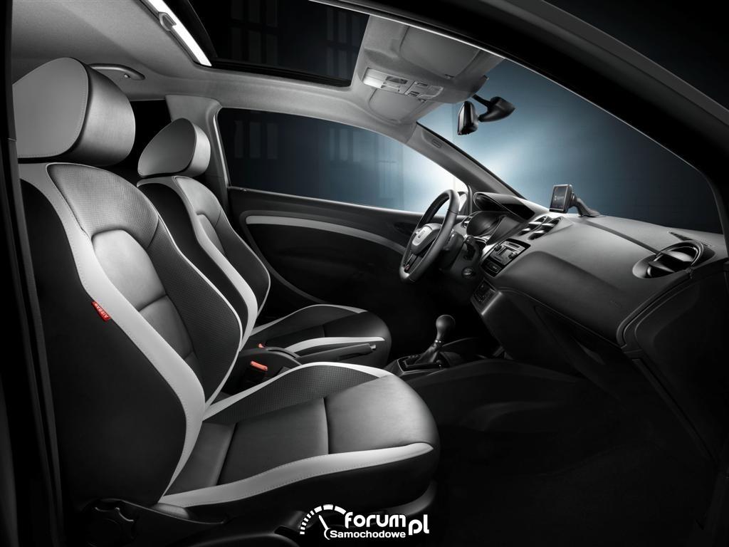 SEAT Ibiza Cupra, wnętrze