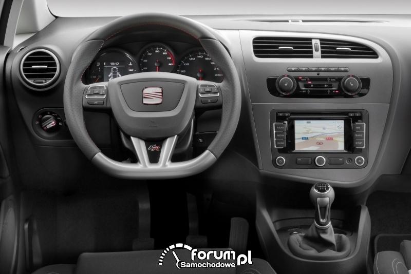 SEAT Leon FR - wnętrze