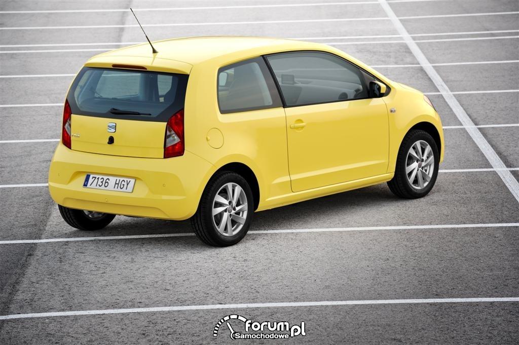 SEAT Mii - żółty