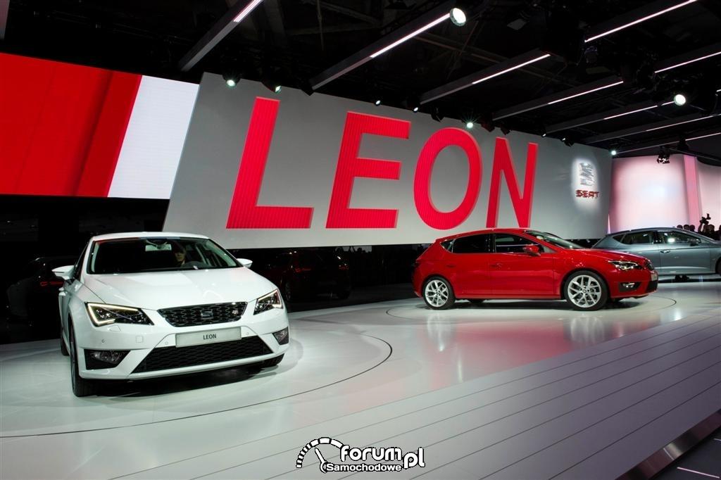 SEAT Paris Motor Show 2012