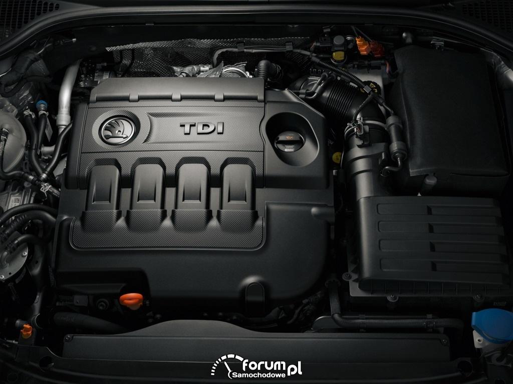 Silnik TDI z bezpośrednim wtryskiem serii EA288, 1.6 TDI o mocy 81 kW (110 KM)