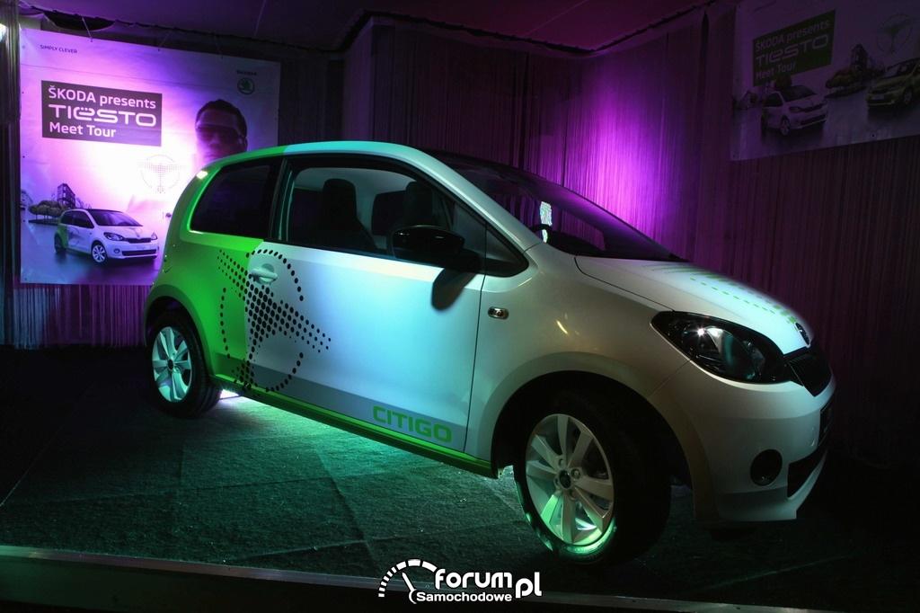 Skoda Citigo DJ Car, Tiësto, WOŚP