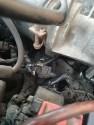 Nissan sunny gti , spalona kostka pod gumowa rura powietrza do przepustnicy