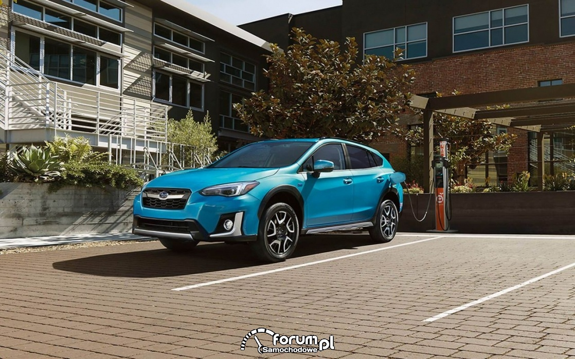 Subaru Crosstrek plug-in hybrid - kompaktowy SUV