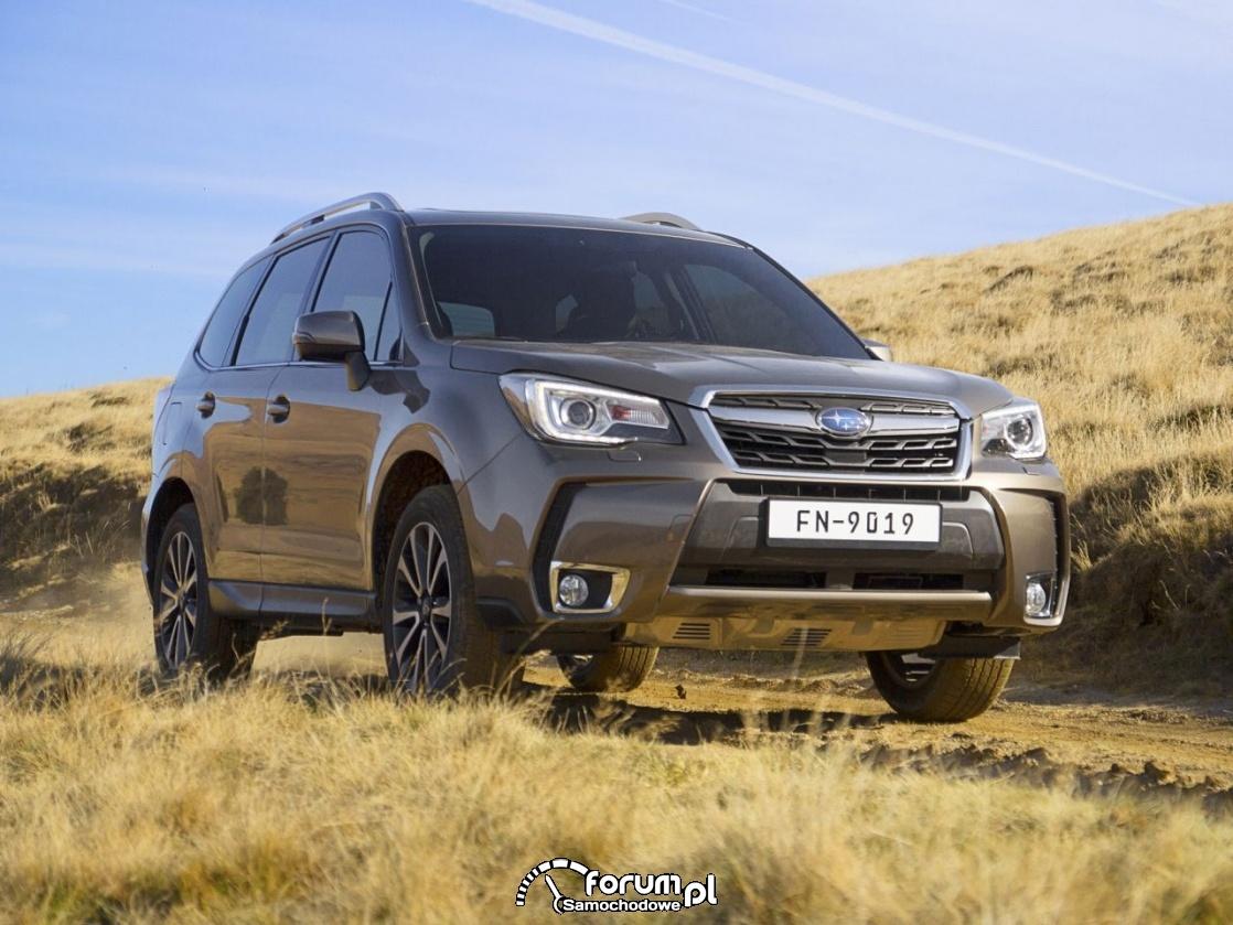 Subaru Forester 20XT, 2016 rok