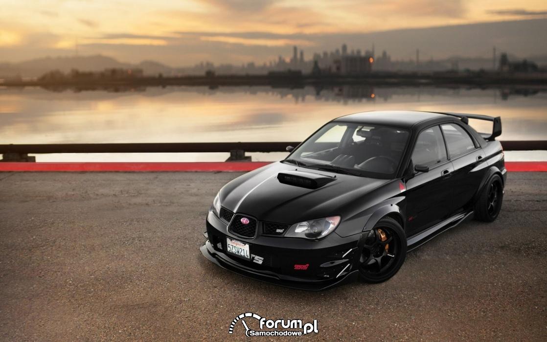 Subaru Impreza Black