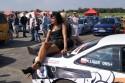 Dziewczyny na samochodzie - drift