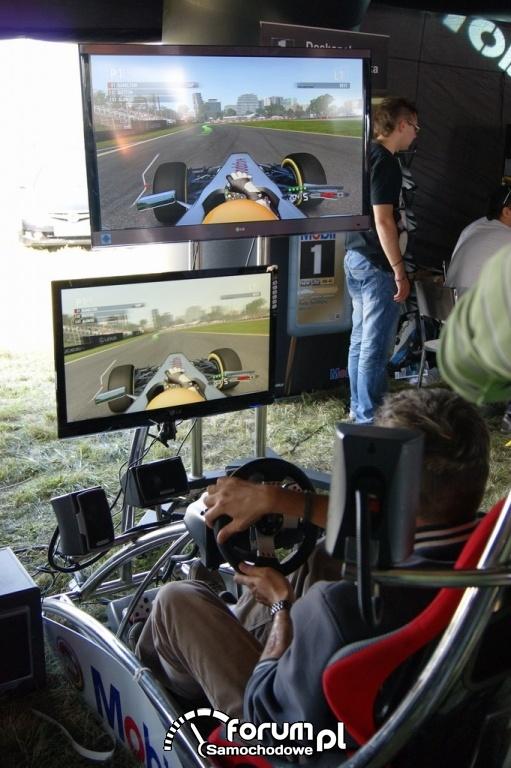 Symulator wyścigów F1