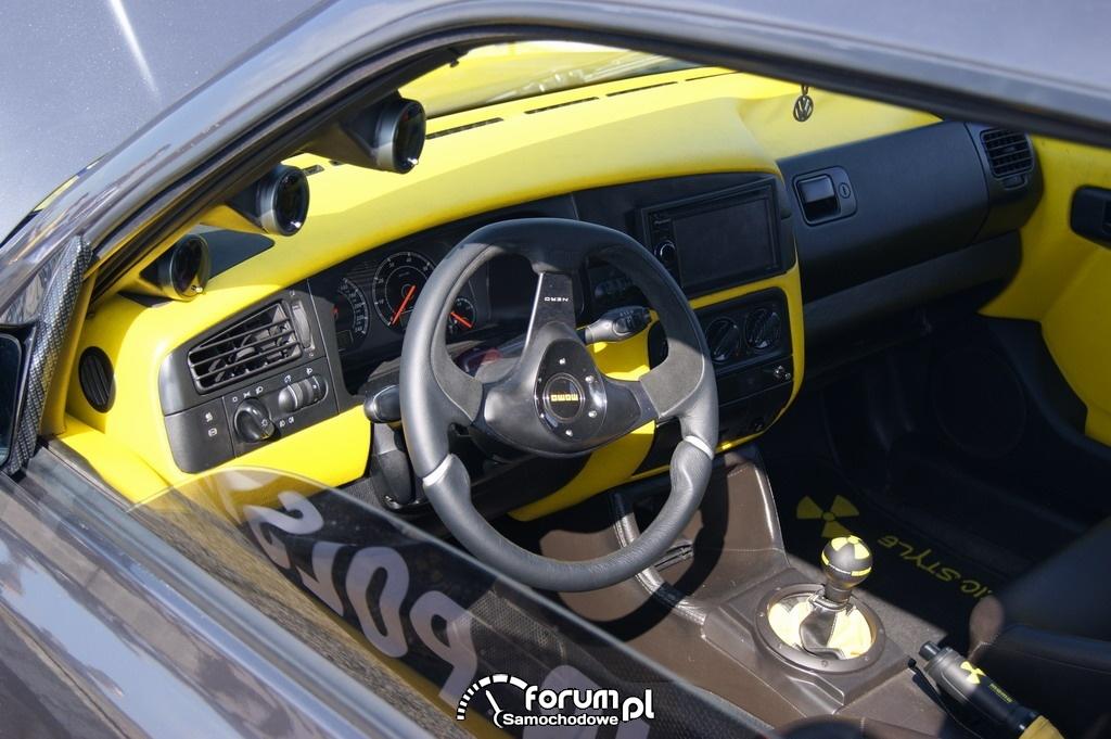 VR6-DOHC - Volkswagen Golf - wnętrze