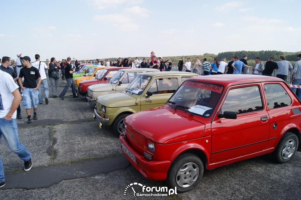 Zlot maluchów - Fiat 126P