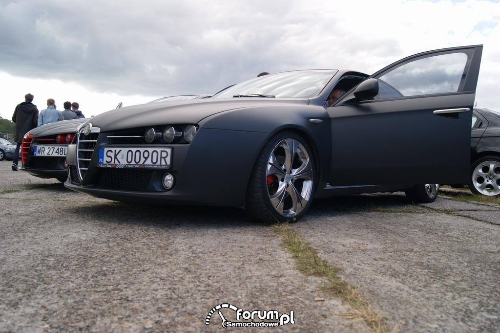 Alfa Romeo 159, Czarny Mat