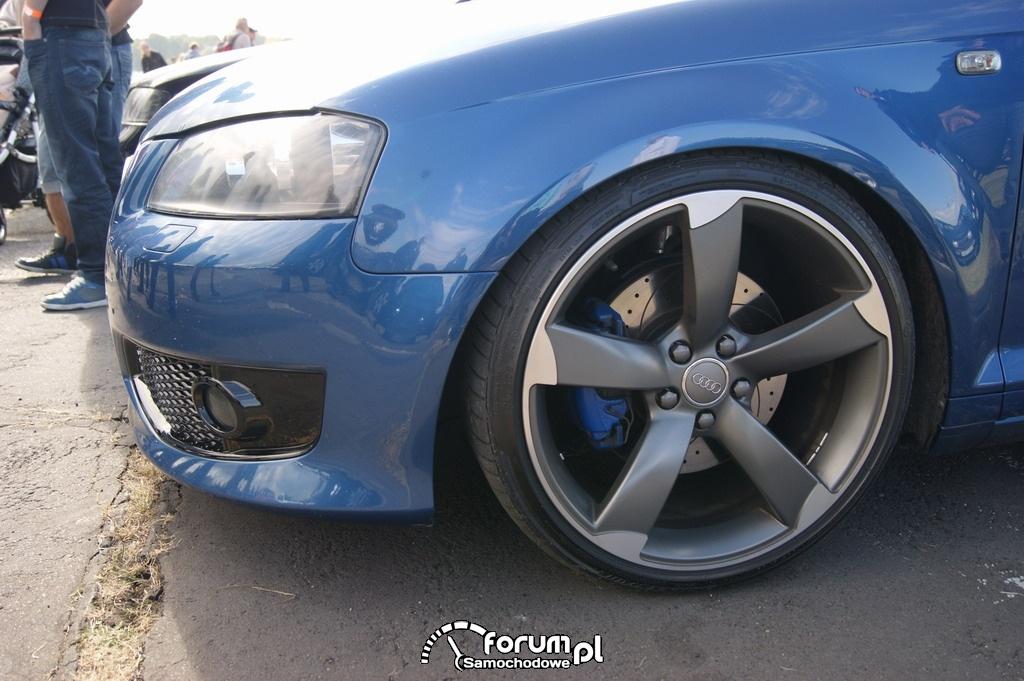 Audi A3 S-line, alufelgi