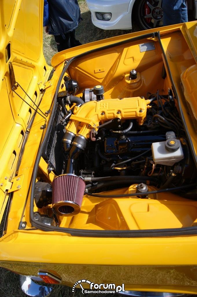 Fiat 125P, Tuning, silnik