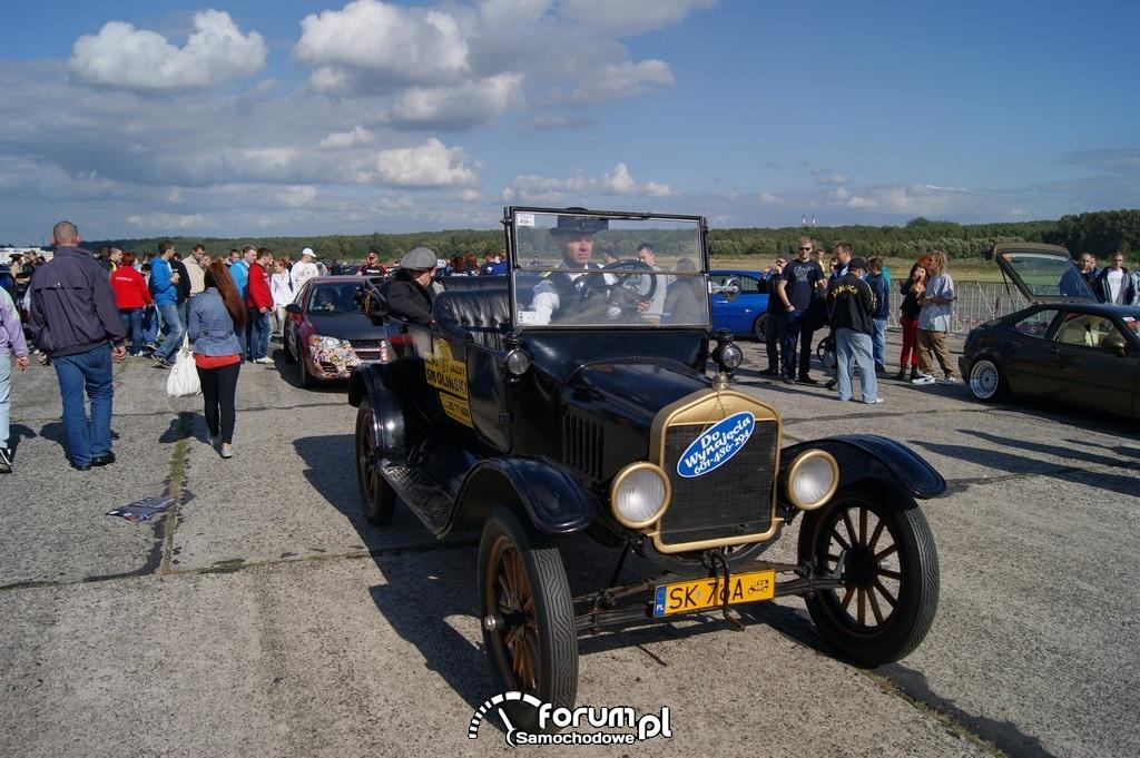 Ford A, lata produkcji 1918-1939, zabytek