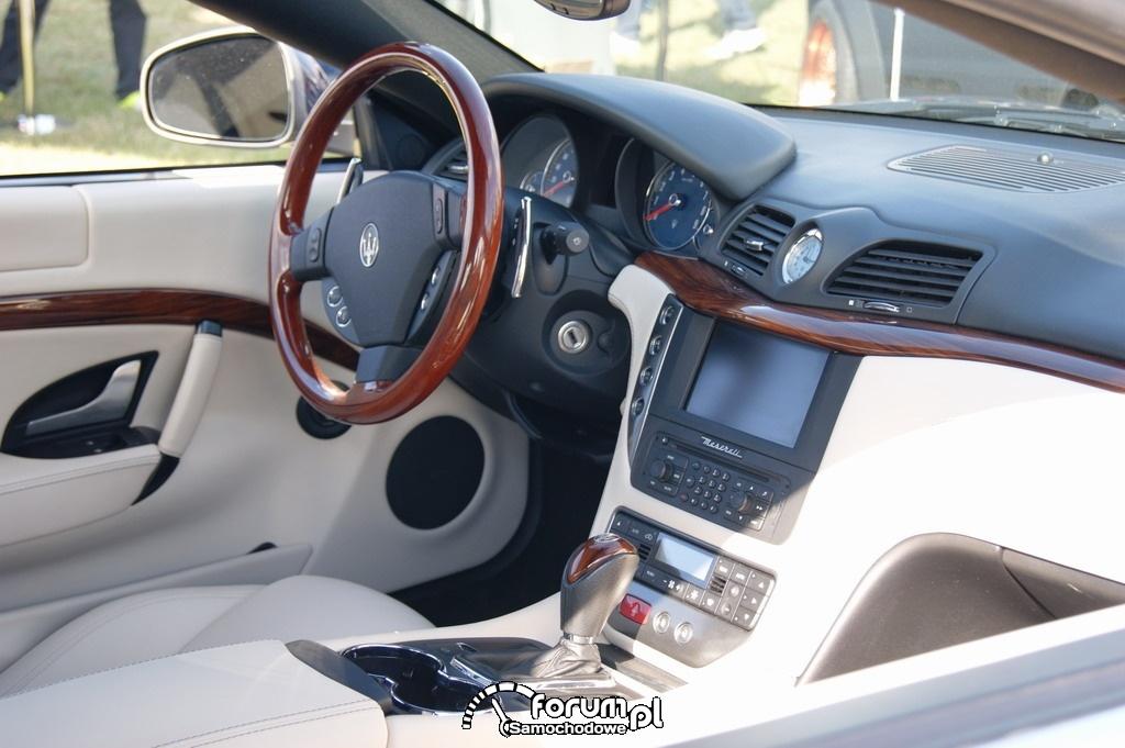 Maserati Gran Turismo, wnętrze