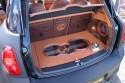 Mini countryman, zabudowa bagażnika Car Audio