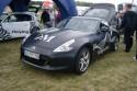 Nissan 370z, czarny mat