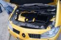 Renault Megane II, zabudowa komory silnika