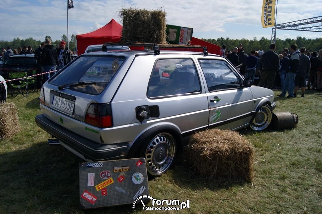 Volkswagen Golf II, Tuning Rat Style