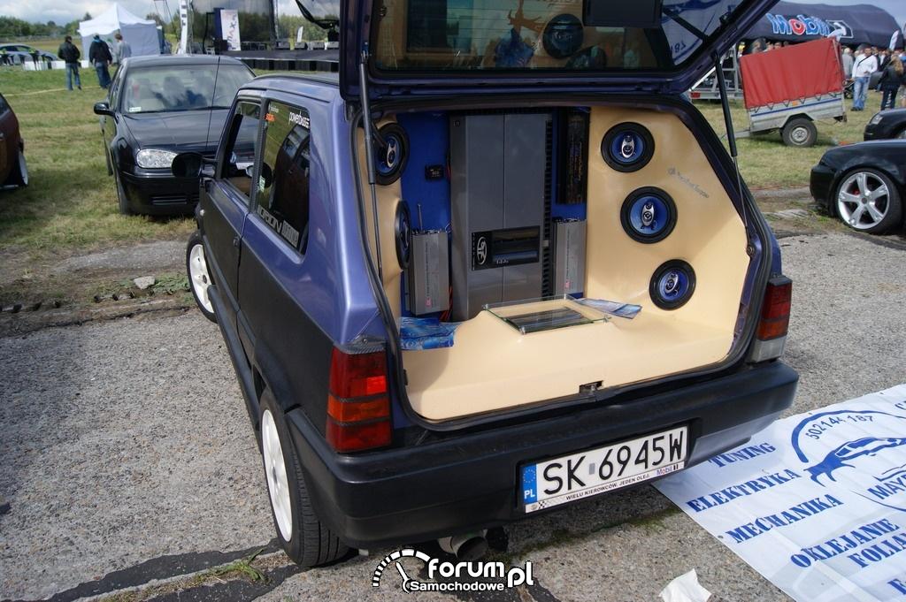 Zabudowa Car Audio, Fiat Panda I