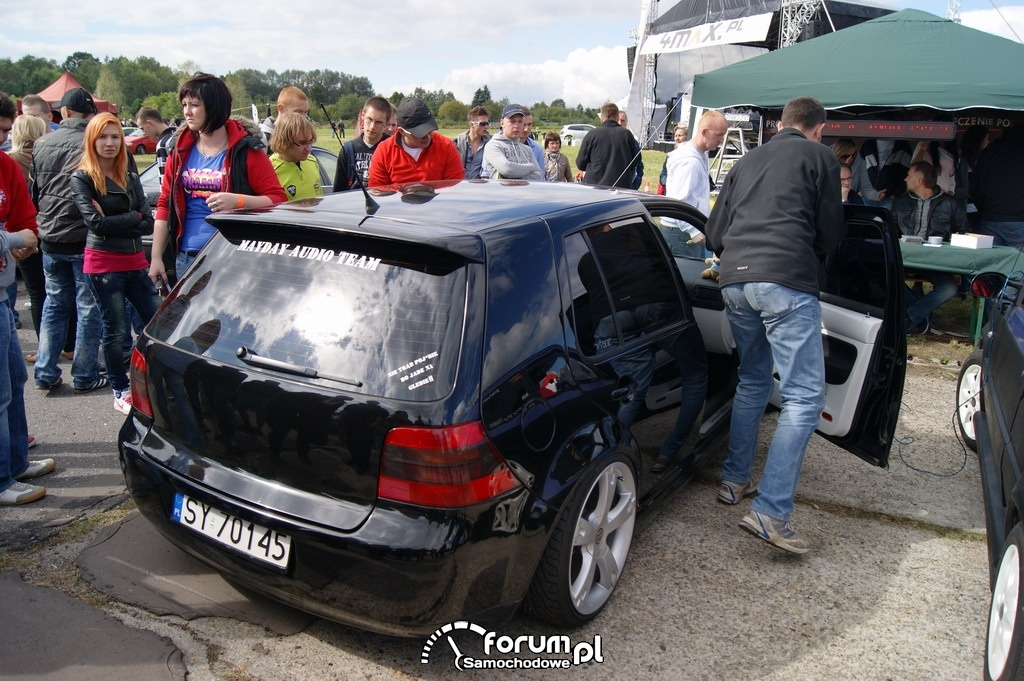 Zawody Car Audio, VW Golf IV