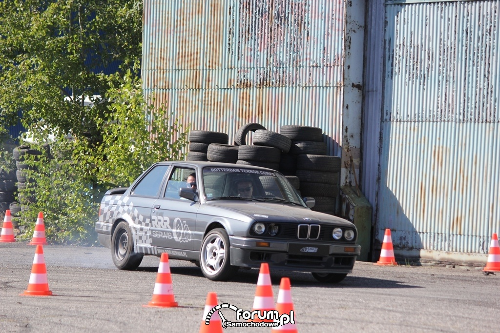 BMW E30, drift, 5
