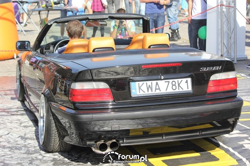 BMW E36 Cabrio 328i, tył