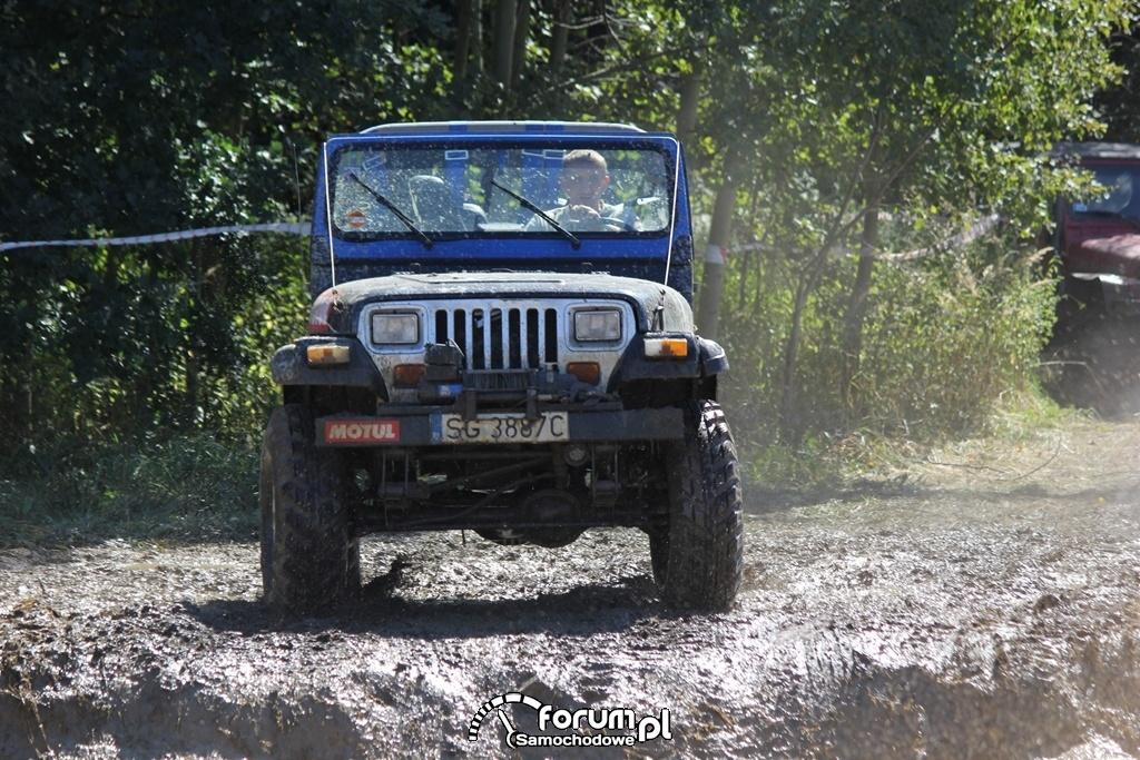 Jeep Wrangler, Off Road, 2
