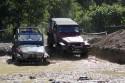 Jeepy Wranglery brodzące w błocie, Off Road,