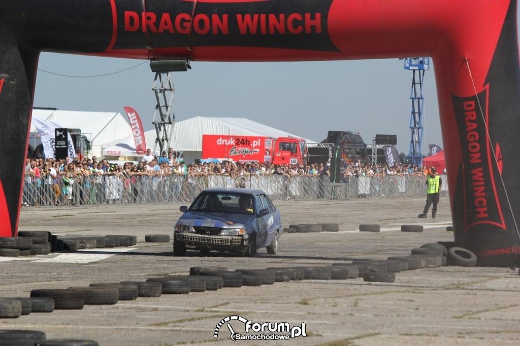Linia startu Wrak Race