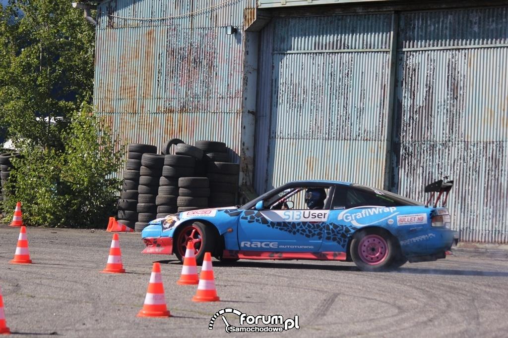 Nissan 200SX S13, drift, 2