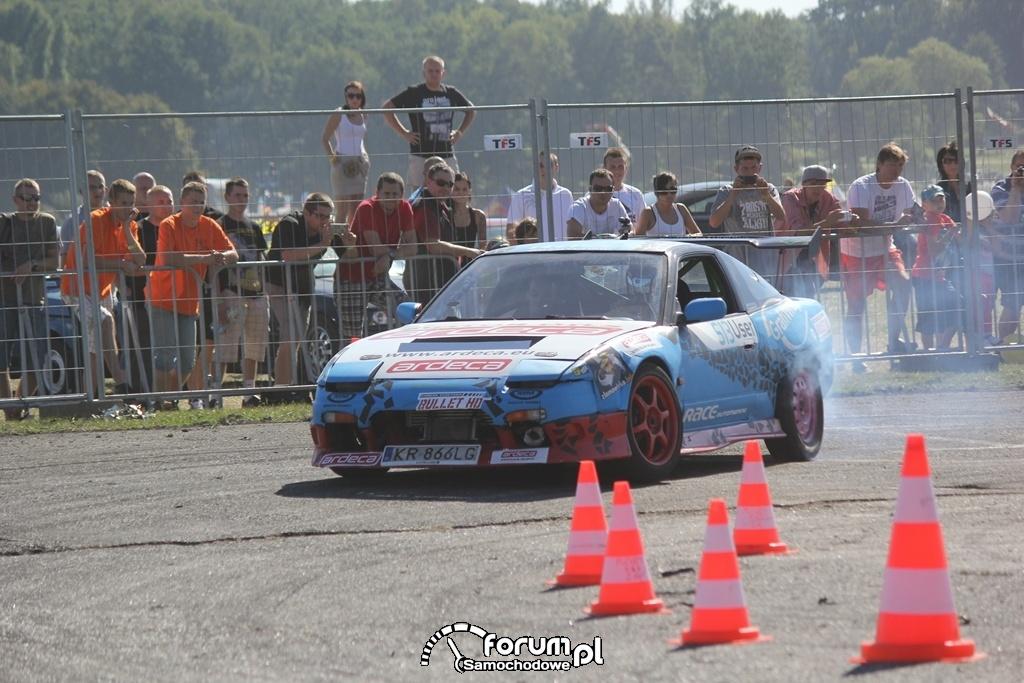 Nissan 200SX S13, drift, 5
