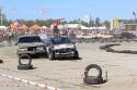 Ostre starcie na zakręcie Volvo vs Ford, Wrak Race
