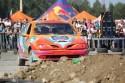Pokazowy przejazd Renault Megane na Wrak Race