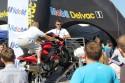 Symualtor jazdy na jednym kole na motorze