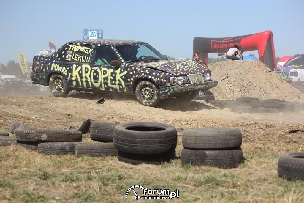 Volvo 940, Kropek, Wrak Race