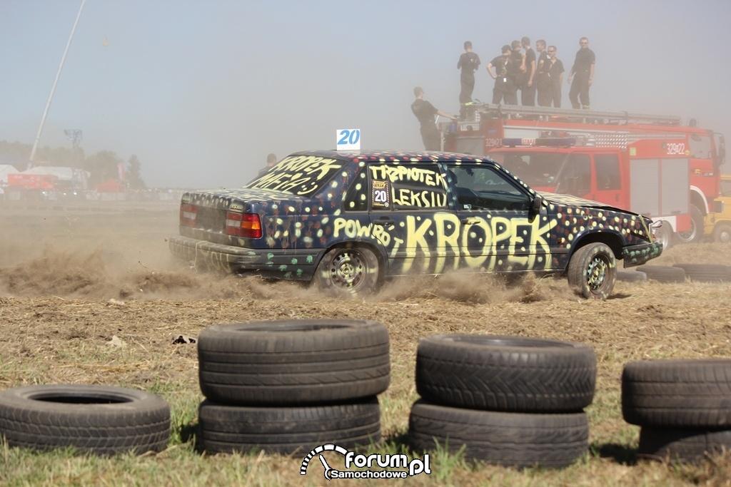 Volvo, Kropek, Wrak Race