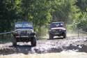 Wranglery przed wjazdem do wody, Off Road