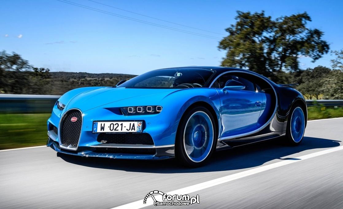 Bugatti Chiron- numer 5